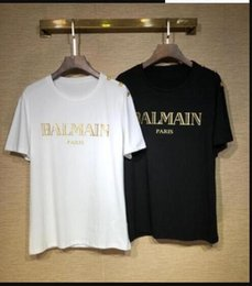 ss t shirts NZ - #nm158 19 SS summer brand , high quality printed short sleeve breathable 100% cotton Shipping
