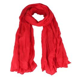 $enCountryForm.capitalKeyWord Australia - snowshine YLW Womens Girl Candy Color silk chiffon scarf Wrap Shawl Scarves