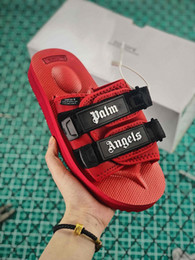 Brown leather slippers for men online shopping - 2019 Cheap Sale Suicoke Vibram x MMJ mastermind JAPAN Slippers Best quality Nylon Sandals for Men Women Designer Fashion Slipper Size