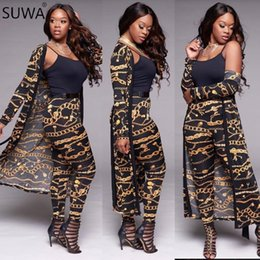 $enCountryForm.capitalKeyWord Australia - Jumpsuits Women Autumn Long Sleeve Women Overalls Sexy Bow Golden Chain Two Piece Outfits Romper Jumpsuit Wy6344 Y19060501