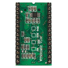 Опт Бесплатная доставка высокое качество звука модуль WT5001M02-28P U-диск аудио плеер карты голосовой модуль MP3 звук для Arduino зеленый