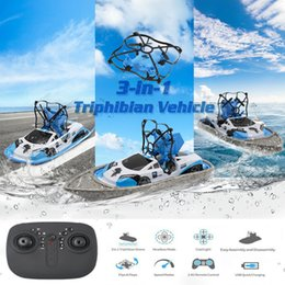 remote police cars Australia - GW123 Global Drone RC Mini Drone Boat Vehicle Helicopter Quadrocopter Remote Control Toys for Boys Girls Nano Dron Flying Air Boat DHL