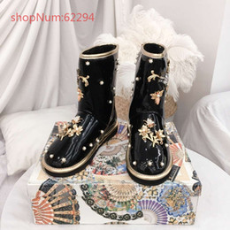 Favorite Boots Australia - 2018 hot selling fashionable boots upscale brand girls favorite beautiful comfortable female flat shoes size 35-40