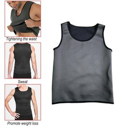 thermo belt Australia - Hot sale Sweat Sauna Body Shaper Men Vest Thermo Neoprene Trainer Sliming Waist Belt Durable And Comfortable Vest