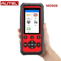 Code Engine Australia - Autel MaxiDiag MD808 Auto OBDII Code Reader Full System Diagnosis Supporting Engine Transmission SRS  ABS  EPB  Oil Reset DPF SAS and BMS