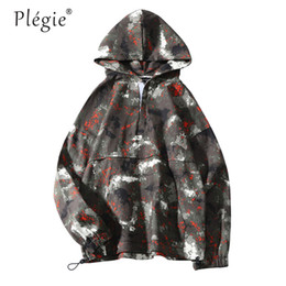$enCountryForm.capitalKeyWord Australia - Plegie Camouflage Jackets Mens Couple Hoodies Long sleeve Pullover Hooded Sweatshirts Coats Men 2019 Big Pocket Tactical Hoodie