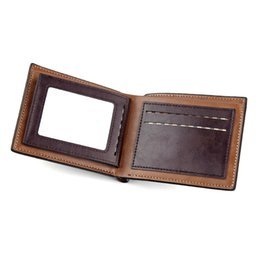 $enCountryForm.capitalKeyWord UK - New men's short wallet retro Europe and America multi-function large capacity card package Cross section card package