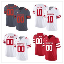 4278a5d39 Custom Houston Cougars 10 Kyle Allen 7 Case Keenum College Football jersey  Personalized Any Name any Number UH Jerseys S-3XL