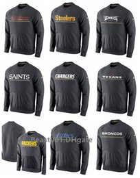 49ers Eagles Saints Chargers Texaner Packer Steelers Championship Drive Gold Kollektion Hybrid Performance Fleece Sweatshirt im Angebot