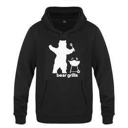 $enCountryForm.capitalKeyWord UK - Bear Grills Novelty Funny Creative Sweatshirts Men Nice Mens Hooded Fleece Pullover Hoodies