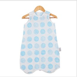 winter sack baby UK - Children Baby Sleeping Bags Muslin Cotton Boy Girl Thin Sleeping Bag For Summer Bedding Baby Bebe Sacks Sleepsacks 0-4 years Y200704