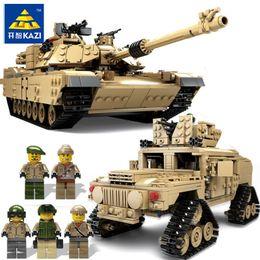 $enCountryForm.capitalKeyWord Australia - Kazi New Theme Tank Building Blocks 1463pcs Building Blocks M1a2 Abrams Mbt Ky10000 1 Change 2 Toy Tank Models Toys For Children MX190731