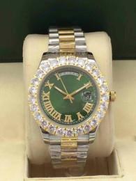 $enCountryForm.capitalKeyWord Australia - 2019 New 18k luxury Gold President DayDate Diamonds Watch Men Stainless Diamond Bezel Automatic WristWatch Male Watches