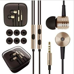 $enCountryForm.capitalKeyWord Australia - 3.5mm In-Ear Earphones Metal Headphones Noise Cancelling With Mic and Remote Control Earphone for Samsung Galaxy Xiaomi iphone 6 6s