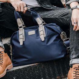 $enCountryForm.capitalKeyWord Australia - Factory wholesale men handbag multifunctional men large capacity travel bag fashion nylon sports fitness bag outdoor leather leisure handbag