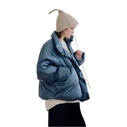 China Sleeve tight wind protection design! Warm white collar female duck down coats 384017 supplier thick women tight suppliers