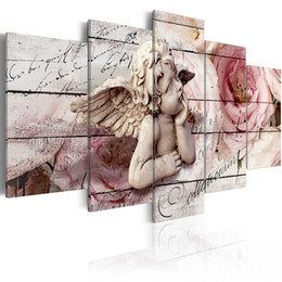 $enCountryForm.capitalKeyWord Australia - ( No Frame ) Angel Decoration Canvas Art Print Home Decoration Picture, Choose Color & Size