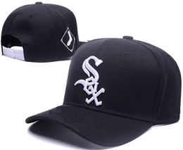 White sox hats online shopping - 2019 Summer New White Sox Adjustable Baseball Caps Snapback Hats For Men Women Fashion Cap Hip Hop Sun Bone Hat luxury designer Mix Order
