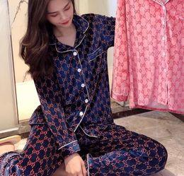 Wholesale luxury designer pajama home velvet long-sleeved pajamas ladies high-end wearable pyjamas couple's home suit pyjama