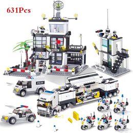 Truck blocks online shopping - City Police SWAT Helicopter Truck Car Building Blocks Sets LegoINGLs Brinquedos Bricks Playmobil Educational Toys for Children