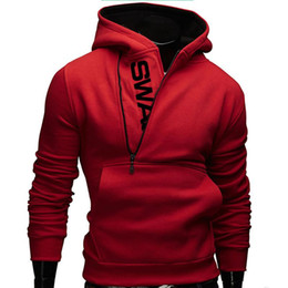 assassins creed clothing jacket Canada - 6XL Fashion Brand Hoodies Men Sweatshirt Tracksuit Male Zipper Hooded Jacket Casual Sportswear Moleton Masculino Assassins Creed Clothing