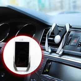 vehicle phone holder Australia - Universal Vehicle Car Interior Accessories Cell Mobile Phone Holder Stand Air Vent Mount Bracket Cradle Parts Decoration