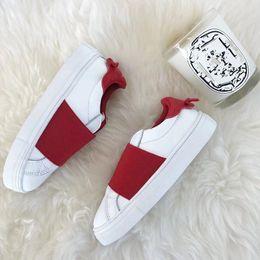 $enCountryForm.capitalKeyWord Australia - 2019 Brand New Style children love Bask Support casual Shoes Triple red white girl kids Sport Knit Chaussures Designer child Trainer epacket