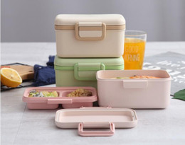 $enCountryForm.capitalKeyWord Australia - Environment-friendly bamboo fiber children's lunch box sealed tableware,bento box