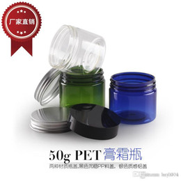Recyclable plastic packaging online shopping - Cream Jar G Colorful Plastic Cosmetic Cream Jars Empty Lotion Batom Container Sample Packaging Bottles