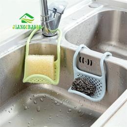 $enCountryForm.capitalKeyWord Australia - wholesale Sponge Storage Rack Basket Wash Cloth Soap Shelf Organizer Kitchen Gadgets Accessories Silicone Sink Shelving