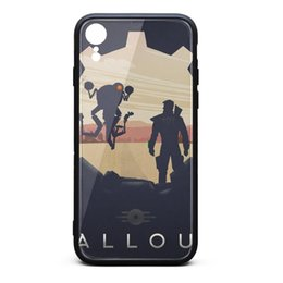 $enCountryForm.capitalKeyWord Australia - IPhonexr Case 6.1 inch Fallout gear poster skid-proof screen protectors cool TPU Rubber Gel Silicone phone cases