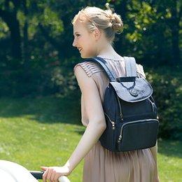 $enCountryForm.capitalKeyWord Australia - Mother Bags Waterproof Fashion Parturient Pack Nylon Both Shoulders Maternal Infant Supplies Knapsack Moms Bag Wheelbarrow Portable 52yx N1
