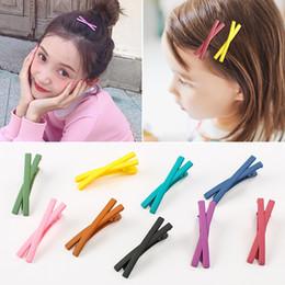 $enCountryForm.capitalKeyWord Australia - Women Cross Hairgrips Hairpin Girls Pin Barrette Clip Bangs Hairclip Headwear Children Hair Clips Hair Accessories
