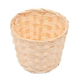 $enCountryForm.capitalKeyWord UK - Handmade Sundries Organizer Rattan Plant Box Wicker Basket Nursery Pots Sea Grass Storage Basket Straw Garden Flower Pot ZJ0679