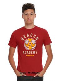 Опт Мужская футболка RWBY Beacon Academy Red Tee прикольная футболка новинка футболка женская