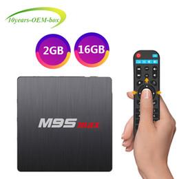Hd Tv Movies Australia - Smart TV Media Player M9S MAX S905W TV Box 2GB 16GB 4K tv box android 7.1 2.4G WiFi Lan HDMI 4K H.265 free movies streaming Players