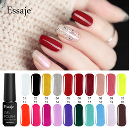 white rose painted red 2019 - Essaje Gel Paint 29 Colors Nail Art Design Manicure Gellak Soak Off Acrylic Gel Lacquer Semi-permanent UV LED Nail Polis