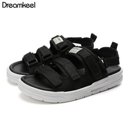 $enCountryForm.capitalKeyWord Australia - 2019 Breathable Couples Sandals Unisex Summer Male Comfortable Shoe Mens Sandals Rubber Sole Mens Gladiator 36-48 Y