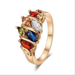 $enCountryForm.capitalKeyWord UK - Gold rings for women Online shop china wholesale Fashion Engagement Rings For Women Bridal Diamond Wedding Ring