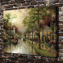 $enCountryForm.capitalKeyWord Australia - Hometown Morning Scenery,Home Decor HD Printed Modern Art Painting on Canvas (Unframed Framed)