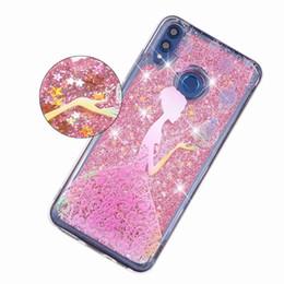 $enCountryForm.capitalKeyWord UK - 10 Pcs lot 3D Glitter Liquid Case For Huawei Honor 8X 6.5inch Case Soft Silicone Cover Honor 8x 8X Phone Bags Funda