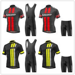$enCountryForm.capitalKeyWord NZ - GIANT Summer Short sleeves Bicycle Cycling Set Cycling jersey+(bib) shorts sets Man jacket MTB Bike Bicycle ciclismo