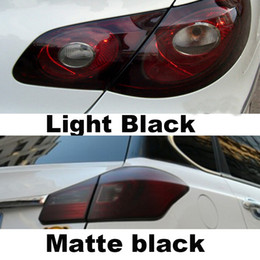 Discount color changing car lights - Auto Car Tint Headlight Taillight Fog Light Vinyl Smoke Film Sheet Sticker Cover Car styling 12inch x 40inch