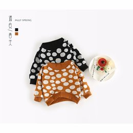 Branded Baby Kids Clothes Australia - Baby Girls Sweatshirt Kids Long Sleeve Tops Baby Boys 2019 Brand Spring Clothes Girls T Shirts Hoodies Children Clothing 0-3T