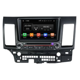 "Lancer Gps Radios Australia - 4GB+64GB IPS Octa Core 2 din 8"" Android 8.0 Car DVD Player for Mitsubishi Lancer 2006-2012 RDS Radio GPS 4G WIFI Bluetooth USB Mirror-link"