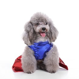 dog cosplay clothes NZ - Summer Holiday Pet Cloth Puppy Super Girl Costume Festival Party Dog Costume Pet Cute Cosplay Skirt Costume Puppy Clothes
