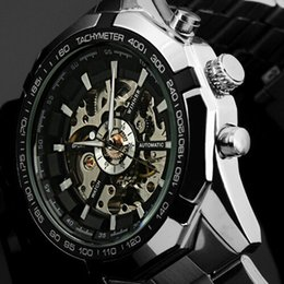 $enCountryForm.capitalKeyWord Australia - Hot 2019 Winner Brand Luxury Sport Men Automatic Skeleton Mechanical Military Watch Men full Steel Stainless Band reloj