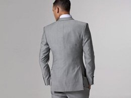 Plus size formal blazers online shopping - Groom Blazer Tuxedos Men Suits Custom Made Formal Suit for Men Two Button Wedding Bestmen Tuxedos Jacket Vest Pants