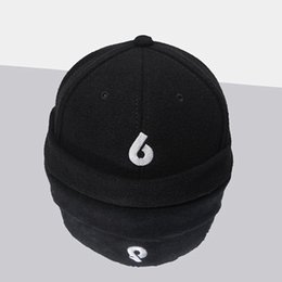 Men Women cap 6 hip hop streetwear kanye west fear of god casual cotton hat  winter hats gorras Landlord Skullies Beanies c57414e45ebd