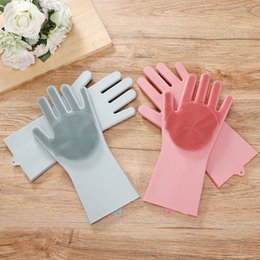 $enCountryForm.capitalKeyWord NZ - Clean Gloves Household Tools Silicone Wash Dish Car Kitchen Waterproof Non-slip Non-greasy Strong Detergency Environmental Protection